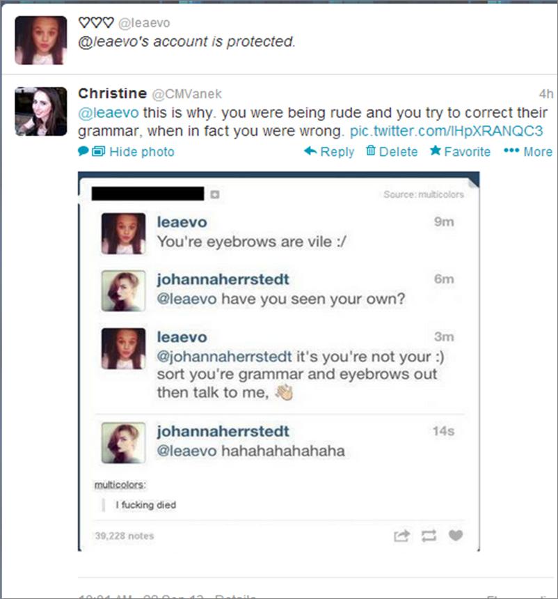 Bullying on Twitter   My Renaissance