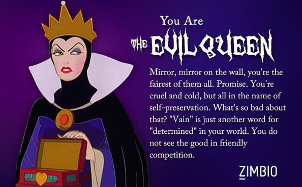 Online Quizzes Which Disney Villain Are You My Renaissance