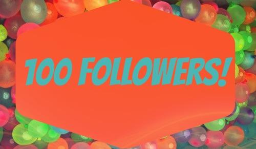 balloons 100 followers