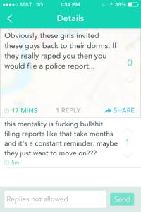 reminder about rape