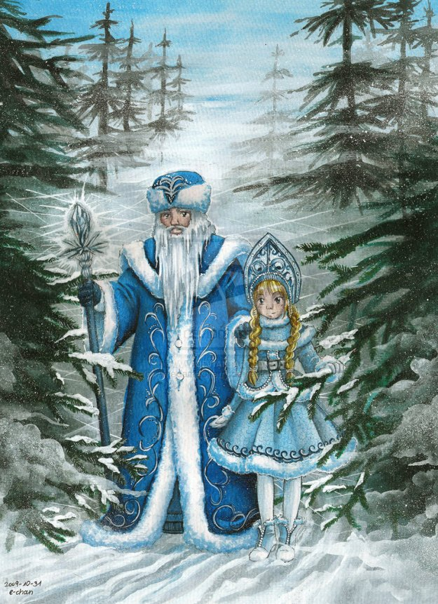 Father_Frost_by_AmedamaCherry